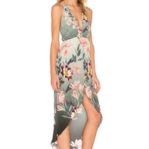 Revolve x Rory Beca Fever Edith Silk Halter Dress